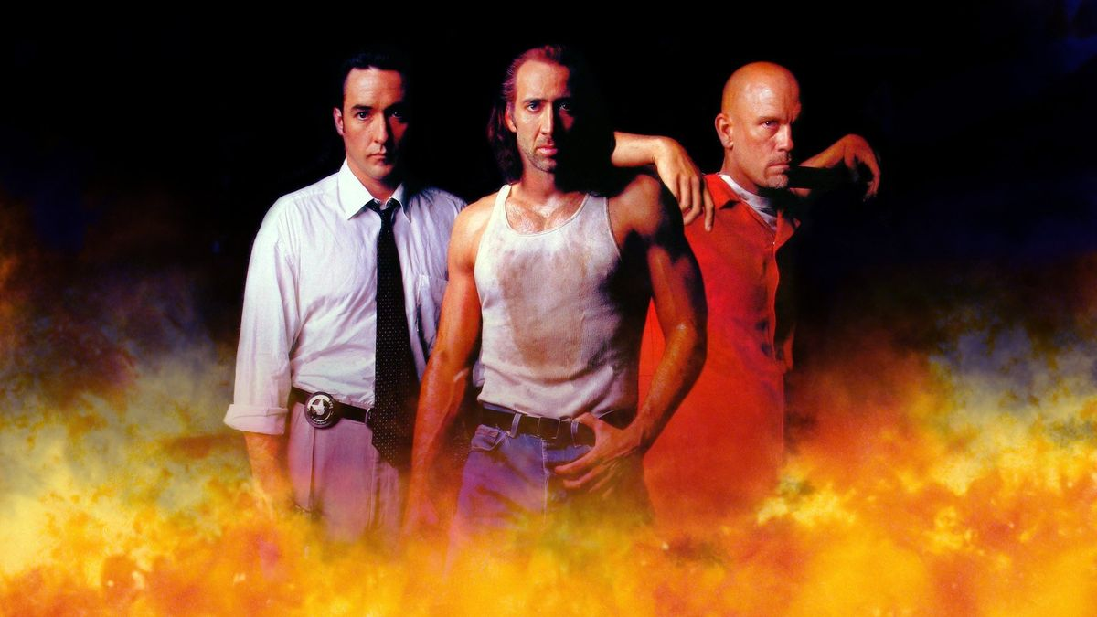 Con Air 1997 Directed By Simon West Reviews Film Cast Letterboxd Before you can say, pass the barf bag, the crooks control the plane, led by creepy cyrus the virus grissom. film cast letterboxd
