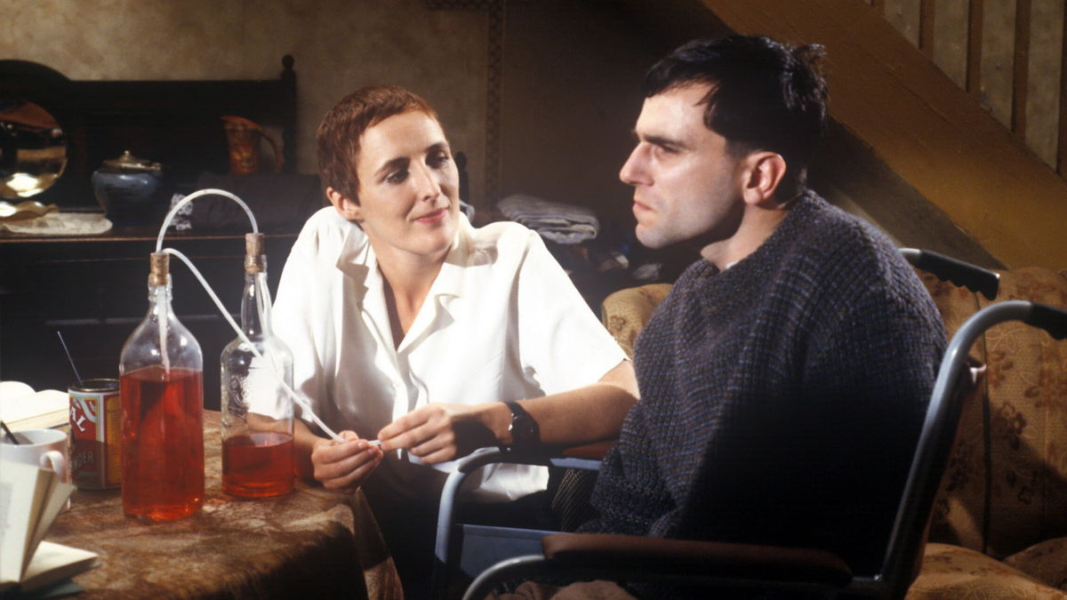 My Left Foot: The Story of Christy Brown (1989) directed by Jim Sheridan •  Reviews, film + cast • Letterboxd