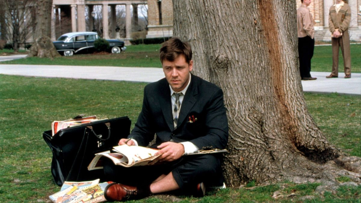 Image result for A Beautiful Mind 2001