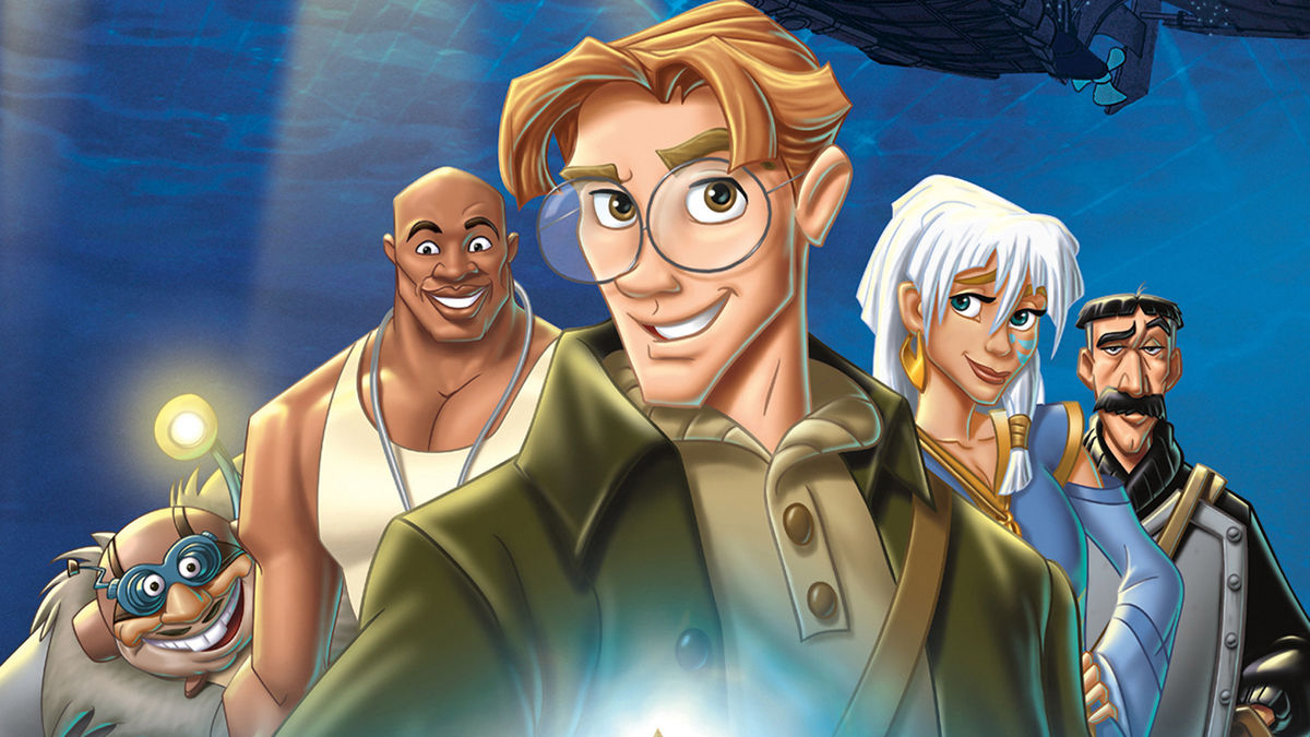 Disney Atlantis Character Design : ‎atlantis the lost empire directed by gary