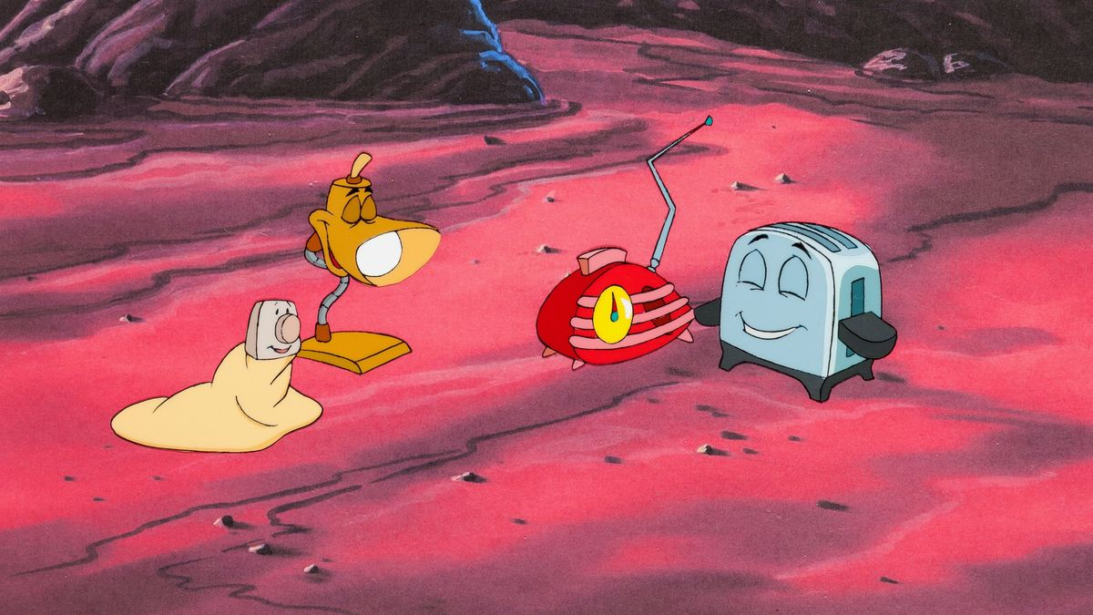 The Brave Little Toaster Goes To Mars 1998 Directed By Robert C Ramirez Reviews Film Cast Letterboxd