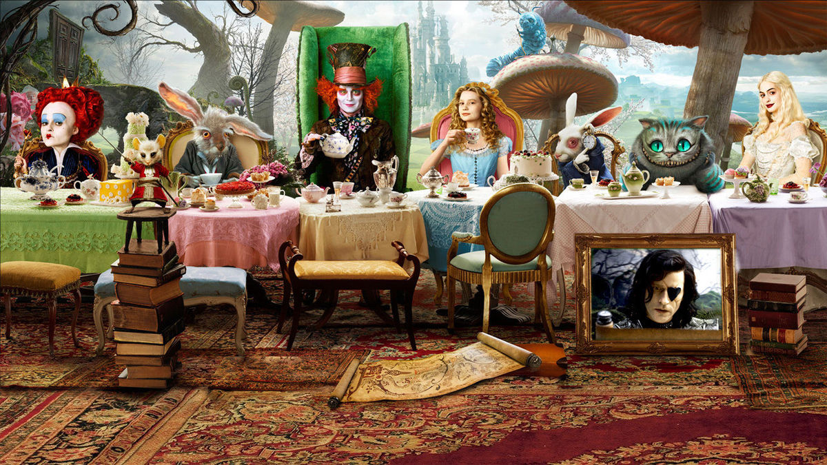 Alice In Wonderland 2010 Directed By Tim Burton Reviews Film Cast Letterboxd