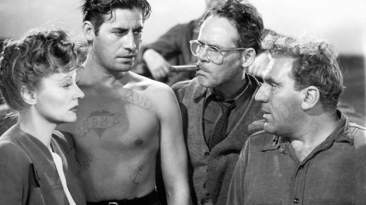 Lifeboat 1944 Directed By Alfred Hitchcock Reviews Film