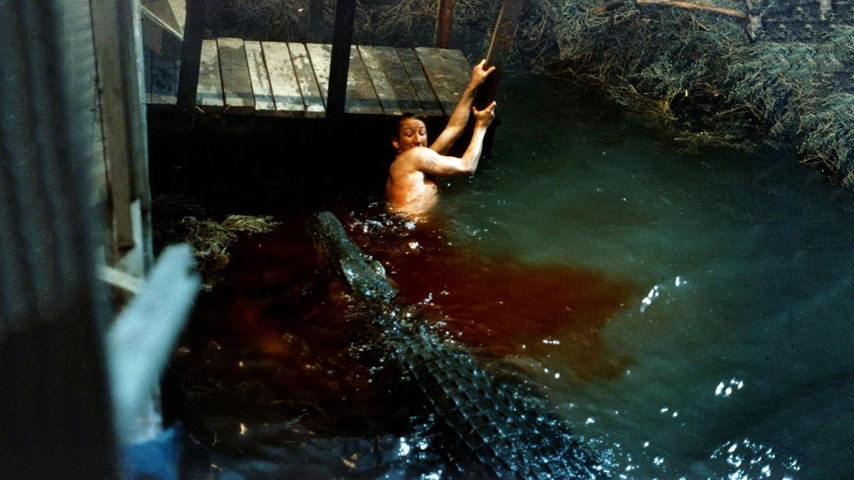 Eaten Alive (1976) directed by Tobe Hooper • Reviews, film + cast • Letterboxd