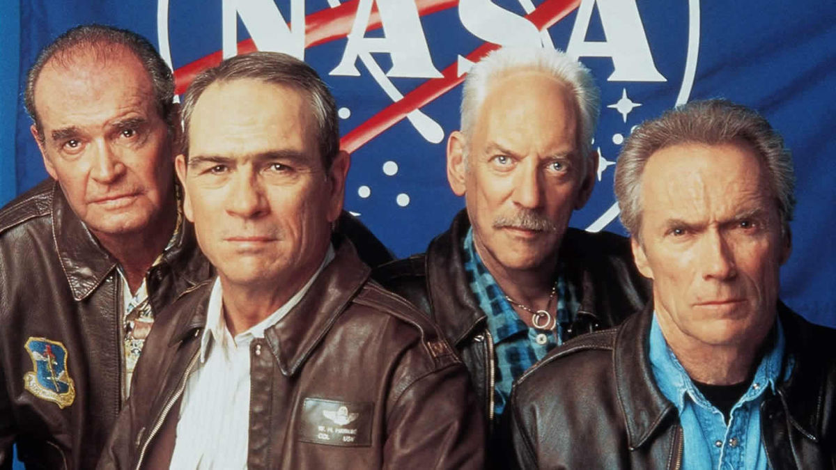 Space Cowboys 2000 Directed By Clint Eastwood Reviews Film Cast Letterboxd