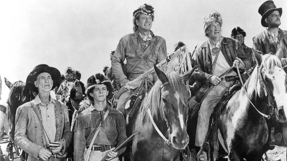 The Alamo (1960) directed by John Wayne ...