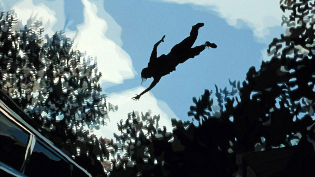 Waking Life (2001) directed by Richard Linklater ...
