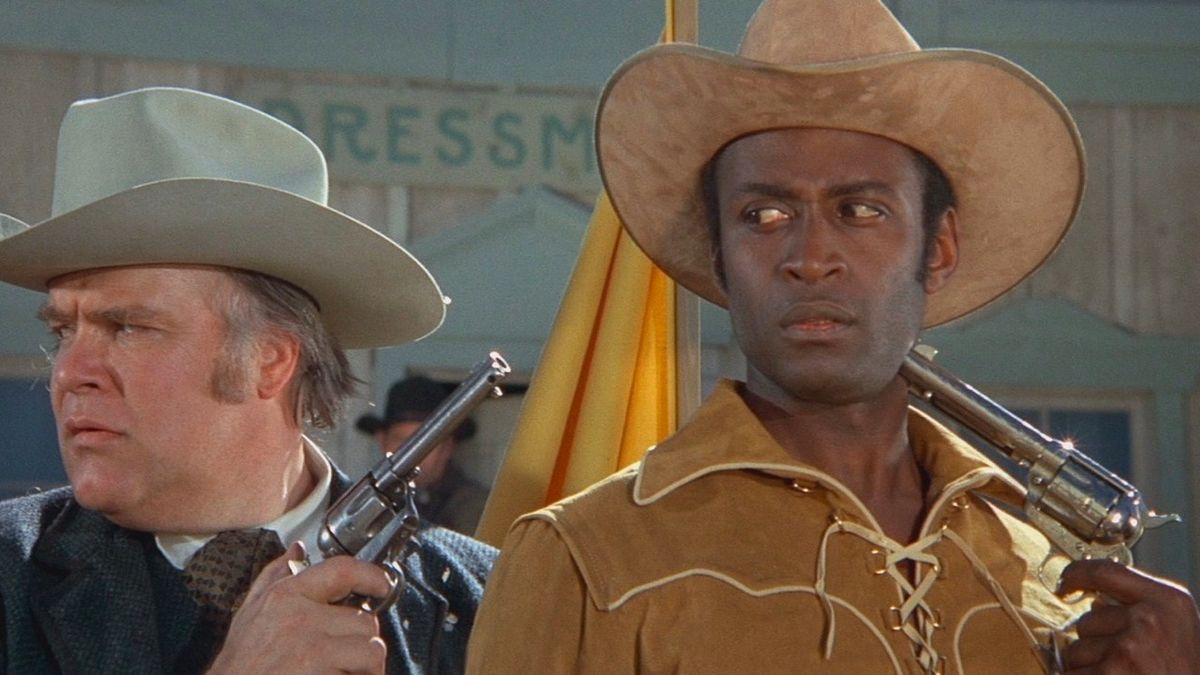 Blazing Saddles (1974) – Comedy, Western