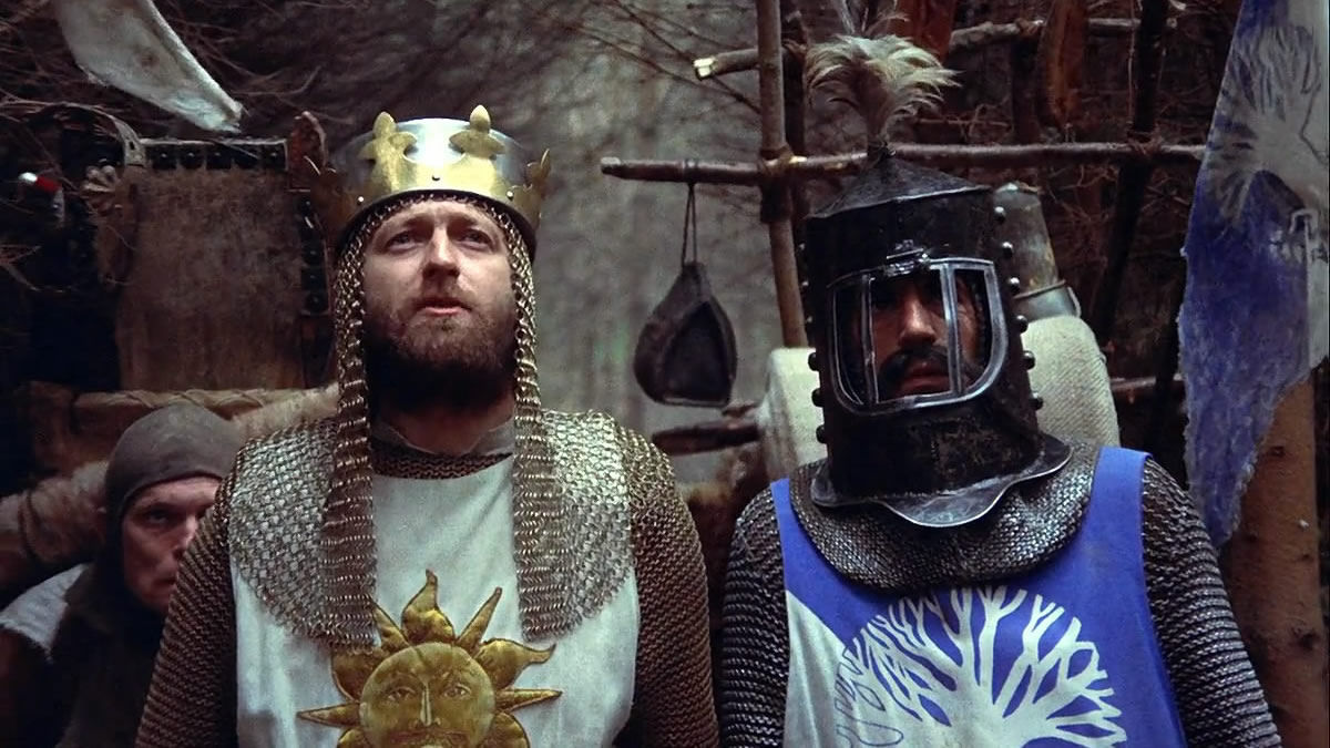 Monty Python and the Holy Grail (1975) directed by Terry Gilliam, Terry Jones • Reviews, film + cast • Letterboxd