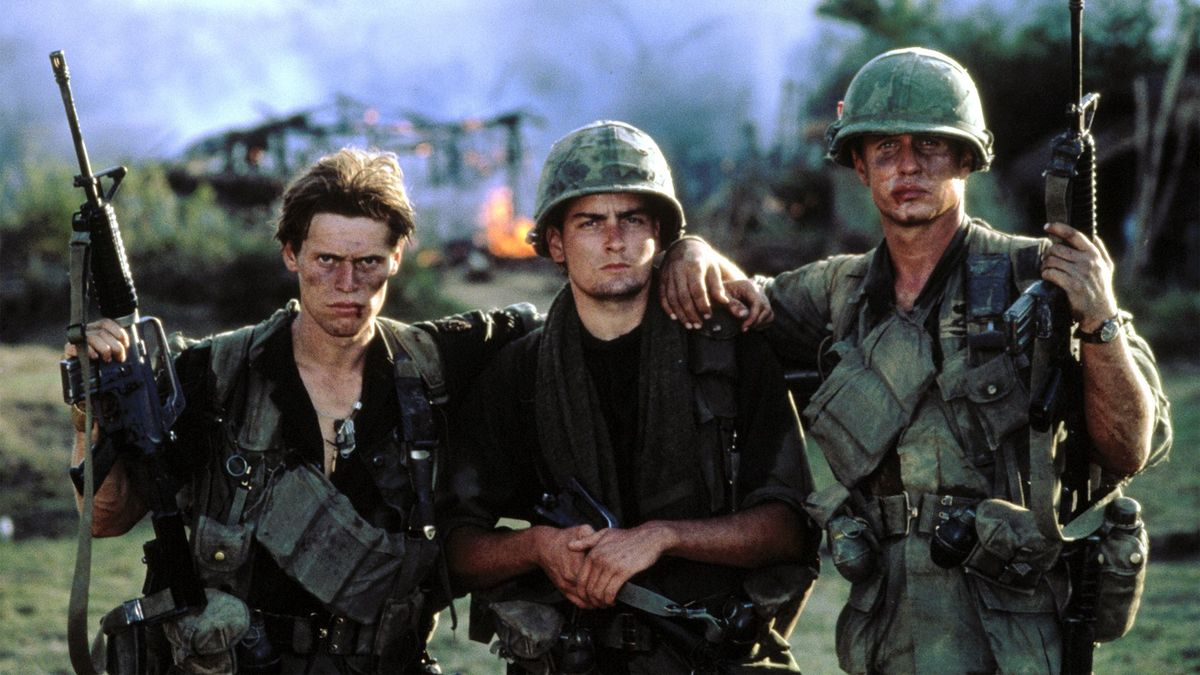 oliver stone the war film platoon 4 things you didn't know about oliver stone's classic 'platoon' (orion pictures) there are a lot of war movies to choose from, but not many of them are directed from the perspective of a man.