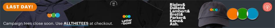 Letterboxd Merch