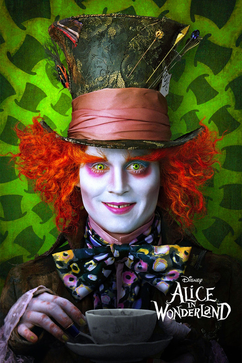 Filmplakat Alice in Wonderland, 2010