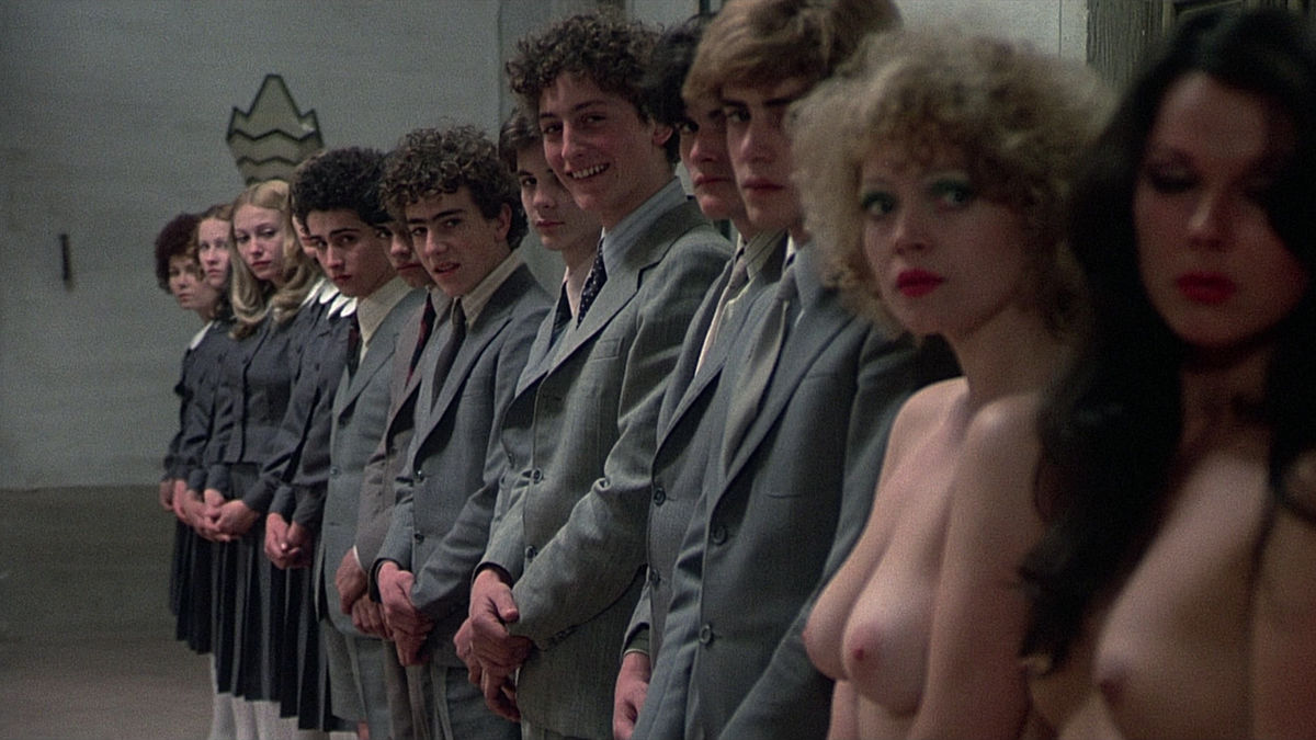 Orgy scene from massimo godimento 1994 angelica bella 5