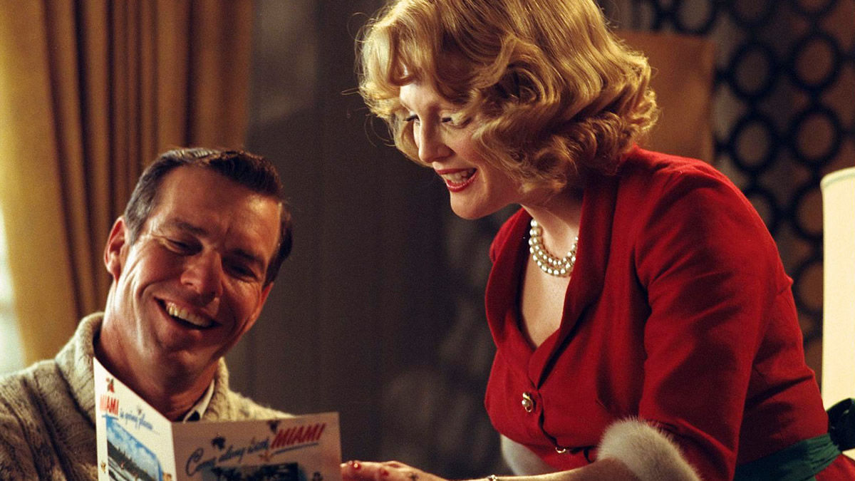far from heaven You probably couldn't have chosen a less likely composer to write the score of a  grand-scale weepy elmer bernstein has more than 200.